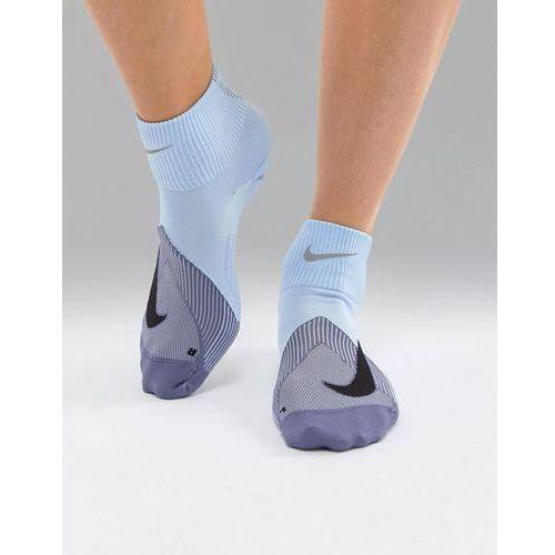 elite lightweight socks in blue - blue marki Nike running