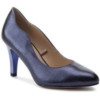 Półbuty - 9-22402-22 blue metallic 858, Caprice