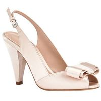 belle satin peep toe shoe, Phase eight