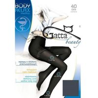 Gatta Body Relaxmedica 40 den rajstopy korygujące, kolor czarny