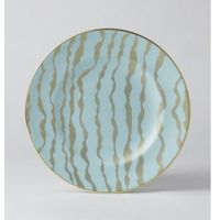 Royal Crown Derby Ruche by Bruce Oldfield Talerz 21,5 cm Ebb Pale Blue Accent, 90RUCHE 61483