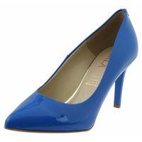 Czółenka Sala 7064 - Niebieskie 753, kolor niebieski