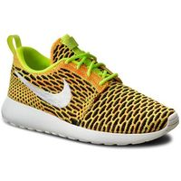 Buty - roshe one flyknit 704927 702 volt/white/total orange/blck, Nike