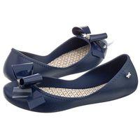 Baleriny Zaxy Start Romance II Fem 82258/01380 Granat (ZA47-c), kolor niebieski