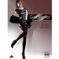 Rajstopy Gabriella Microfibre 124 100 den 5 5-XL, grafitowy, Gabriella
