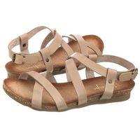 Sandały Maciejka Ciemno Beżowe 03045-10/00-0 (MA246-b), 03045-10/00-0