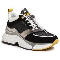 Sneakersy KARL LAGERFELD - KL61612 Dk Grey Ltr & Txt W/Yell, w 5 rozmiarach