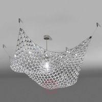 Marchetti Kreatywna lampa sufitowa pareo z kryształkami