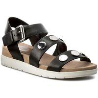 Sandały MICHAEL MICHAEL KORS - Reggie Sandal 40S7REFA1L Black, kolor czarny