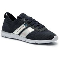 Sneakersy - corporate detail light sneaker fw0fw04129 midnight 403, Tommy hilfiger, 36-40