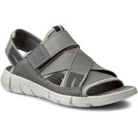 Sandały - intrinsic sandal 84200355915 wild dove/wild dove marki Ecco