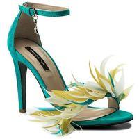 Sandały PATRIZIA PEPE - 2V7313/A2UP-I2QL Yellow/Azure, kolor zielony