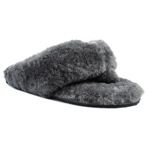 Kapcie - tova w10105 charcoal, Emu australia, 35.5-37