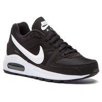 Buty - air max command flex (gs) 844346 011 black/white/white marki Nike