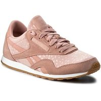 Buty - cl nylon slim txt lux bs9447 chalk pink/white/gum marki Reebok