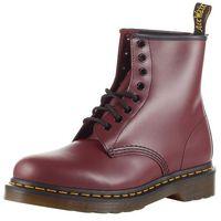 Dr. martens buty sznurowane 'eye boot smooth' anthrazit / burgunder