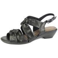 Sandały damskie Marco Tozzi 28209, kolor czarny