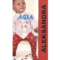 Rajstopy asia 20 den rozmiar: 68/74, kolor: różowy, aleksandra, Aleksandra