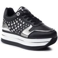 Sneakersy GUESS - Humbull FL7HUM ELE12 BLACK