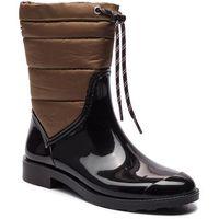 Kalosze GIOSEPPO - 46282 Black/Khaki, w 6 rozmiarach