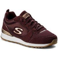 Skechers Sneakersy - goldn gurl 111/burg burgundy