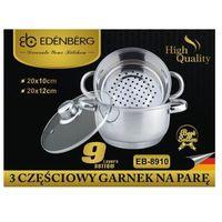 GARNKI DO GOTOWANIA NA PARZE 3 ELE 20CM EDENBERG [EB-8910], EB-8910