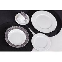 Chodzież / venus Chodzież venus black&white k244 serwis obiadowy i kawowy 60/12