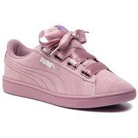 Sneakersy PUMA - Vikky V2 Ribbon S 369726 03 Elderberry/Elderberry/Silver, kolor fioletowy