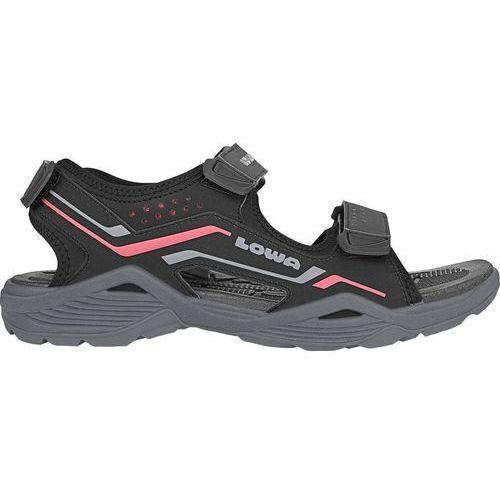 Nowe sandały duralto trail black/red rozmiar 42/27cm, Lowa