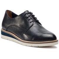 Oxfordy TAMARIS - 1-23202-22 Navy Lea/Plain 869