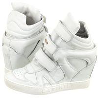 Sneakersy Carinii Białe B3953/N (CI226-f), kolor biały