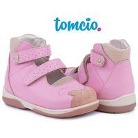 Baleriny profilaktyczne Memo Princessa 3JB kolor różowy, kolor różowy
