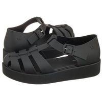 Sandały make plat sandal fem 82441/24502 czarne (za59-b) marki Zaxy