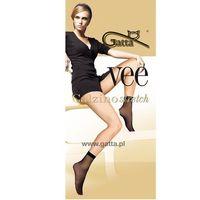 Skarpetki gatta vee stretch a'2 rozmiar: uniwersalny, kolor: beżowy/beige, gatta, 000625009026