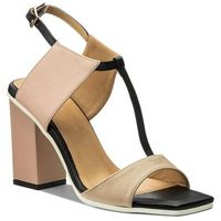 Sandały BALDOWSKI - D01505-3025-001 Botalato C.Beż/Nude/Czarny