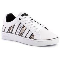 Sneakersy GUESS - Bolier2 FL5BO 2PEL12 WHITE/NUDE, kolor biały