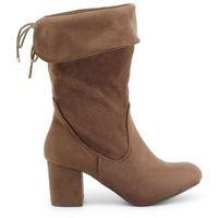 Buty za kostkę botki damskie XTI - 47249-85, kolor beżowy