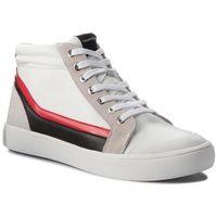 Sneakersy CALVIN KLEIN JEANS - Doris R0798 White/Black/White/To, w 7 rozmiarach