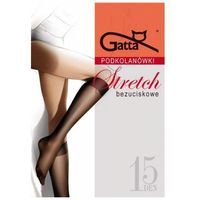 stretch grafitowy podkolanówki, Gatta