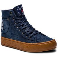 Sneakersy BIG STAR - BB274746 Navy, w 4 rozmiarach