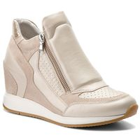 Sneakersy - d nydame a d620qa 04422 c2uh6 platinum/lt taupe marki Geox