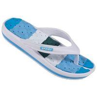 Spokey Medusa - klapki basenowe damskie r.37 (niebiesko-biały), 838603