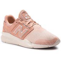 Sneakersy NEW BALANCE - WS247HPC Pomarańczowy, kolor pomarańczowy