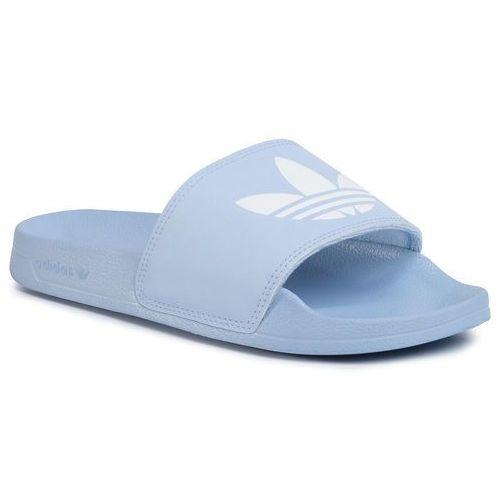 Klapki adidas - Adilette Lite W FU9138 Periwi/Ftwwht/Periwi, kolor niebieski