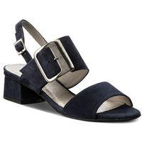 Sandały EDEO - 3185-170/170 Granat, kolor niebieski