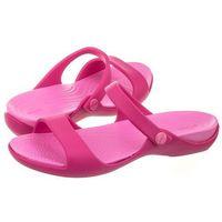 Klapki Crocs Cleo V Candy Pink/Party Pimk 204268-6LR (CR121-d), 204268-6LR