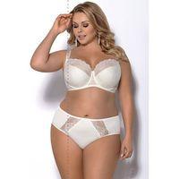 Biustonosz półusztywniany k 357 blanca rozmiar: 100f, kolor: beżowy, gorsenia marki Gorsenia