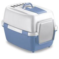 Stefanplast toaleta viva cat błękitna +filtr+łopatka