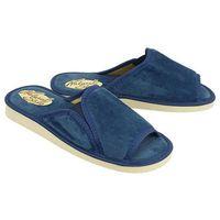 METEOR 025 SABINA ciemnoniebieski, kapcie damskie - Niebieski, kolor niebieski
