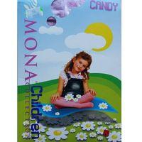 """Rajstopy dziewczęce candy """"24h"""" 80-86, fioletowy. mona, 80-86, Mona"""